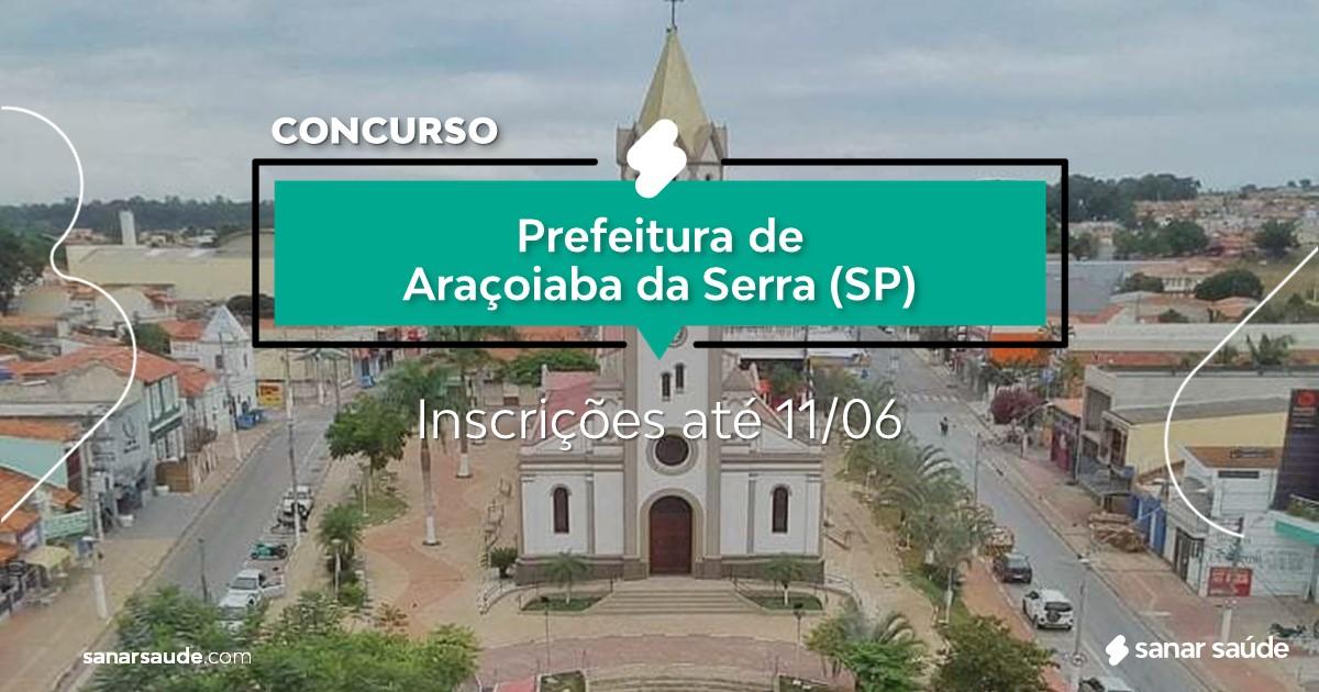 Concurso de Araçoiaba da Serra - SP: vagas imediatas na Saúde!