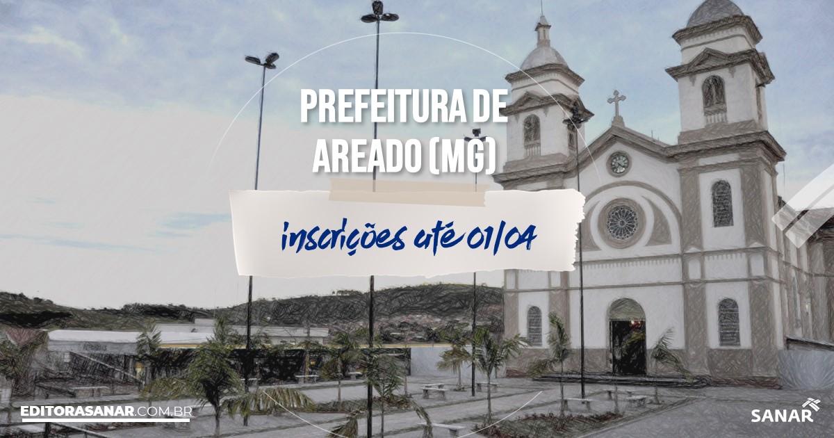 Concurso de Areado - MG: cargos na Saúde!