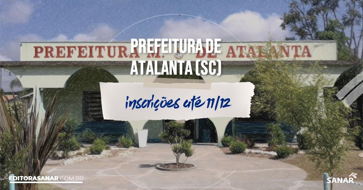 Concurso de Atalanta - SC: vagas na Saúde para psicólogos!