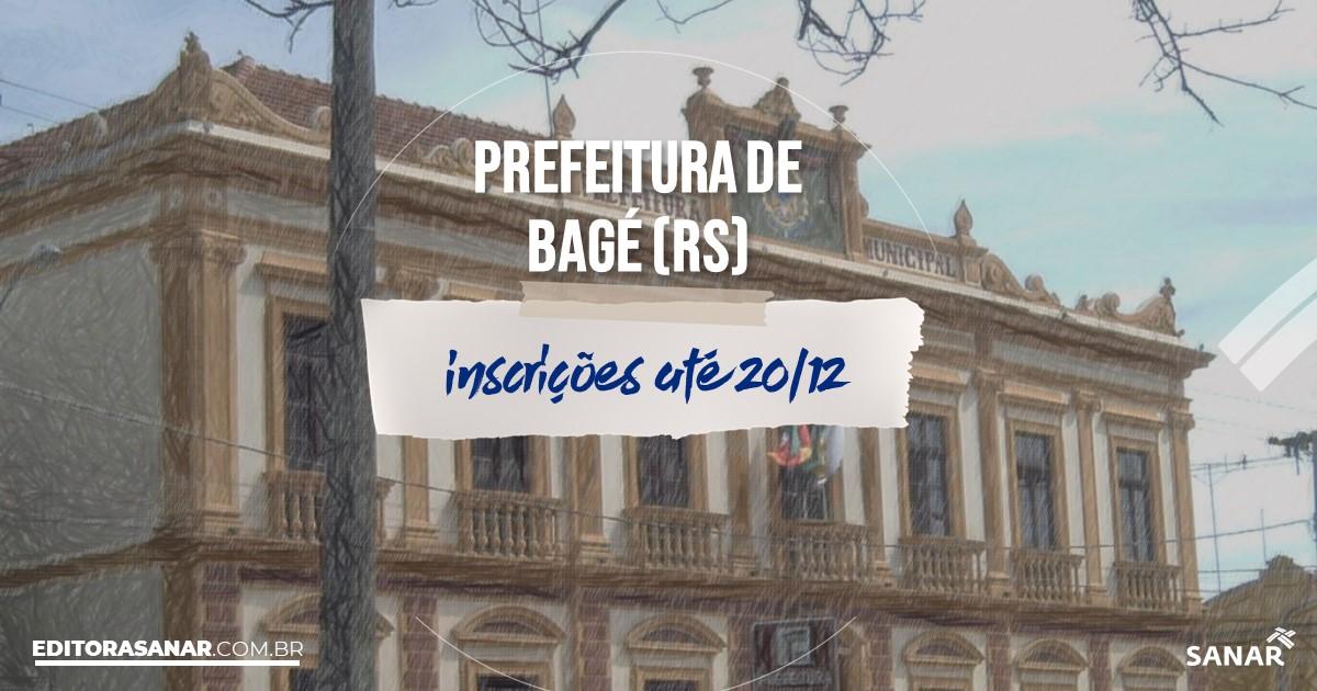 Concurso de Bagé - RS: vagas imediatas na Saúde!