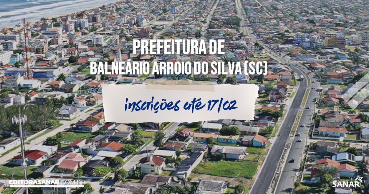 Concurso de Balneário Arroio do Silva - SC: vagas na Saúde!