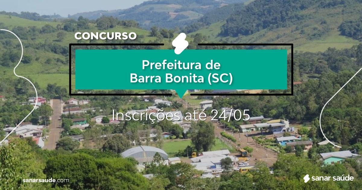 Concurso de Barra Bonita - SC:  vagas na Saúde para enfermeiras!