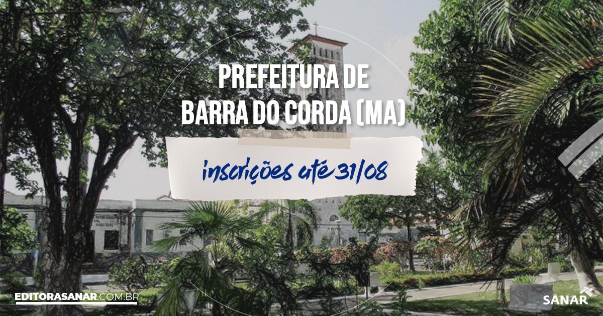 Concurso de Barra do Corda - MA: salários de até R$8 mil na Saúde!