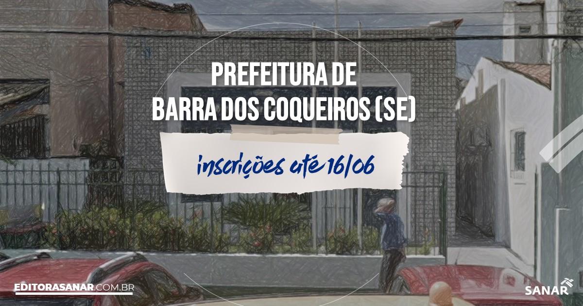 Concurso de Barra dos Coqueiros - SE: cargos na Saúde!