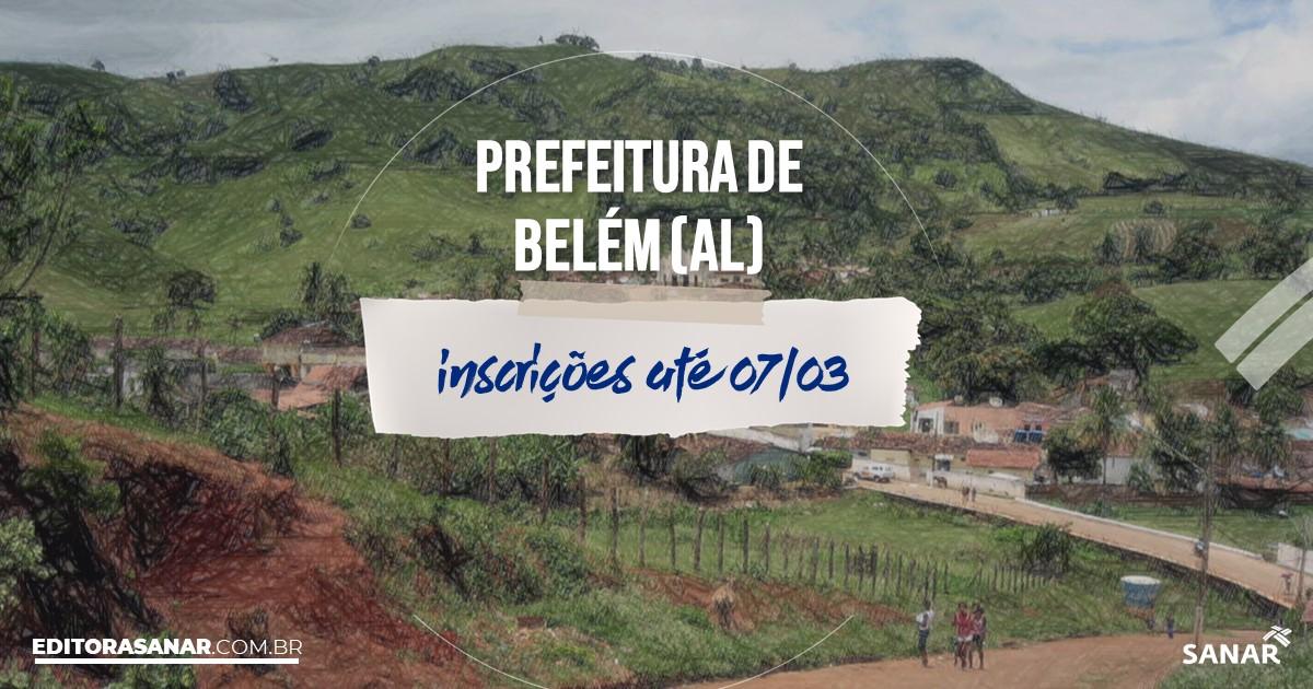 Concurso de Belém - AL: vagas imediatas na Saúde!