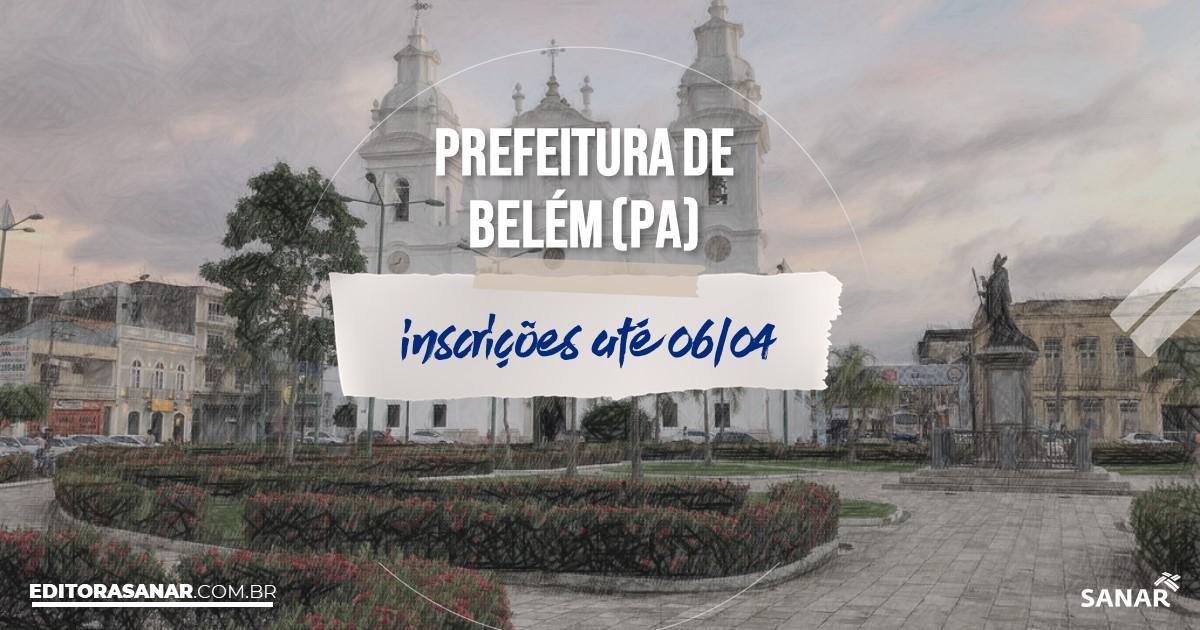 Concurso de Belém - PA: vagas na Saúde para veterinários!
