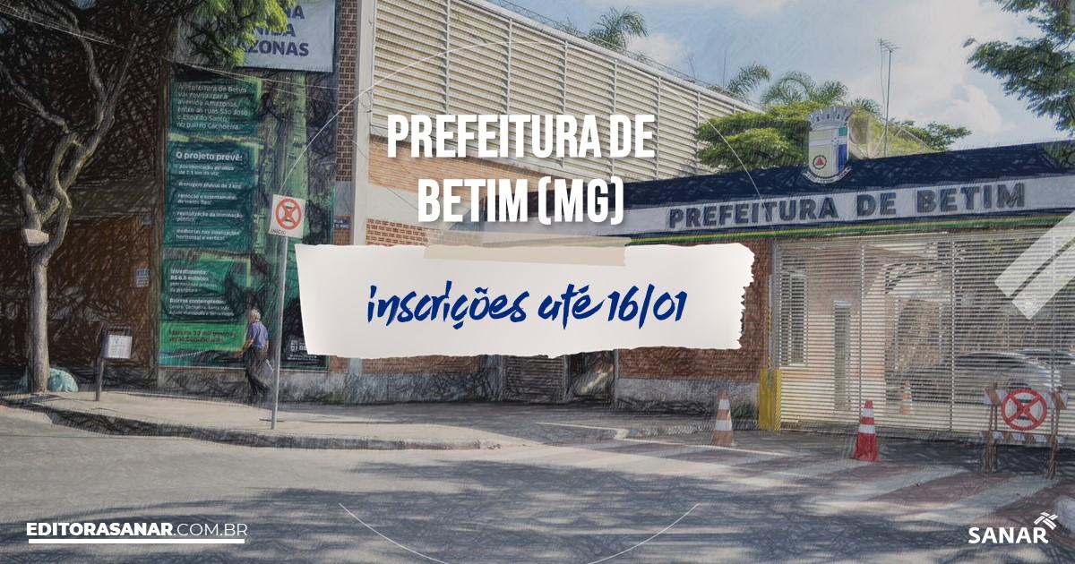 Concurso de Betim - MG: vagas na Saúde para psicólogos!