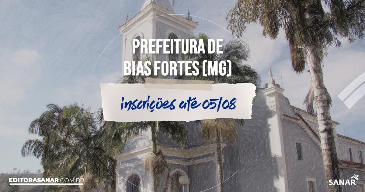 Concurso de Bias Fortes - MG: vagas imediatas na Saúde!