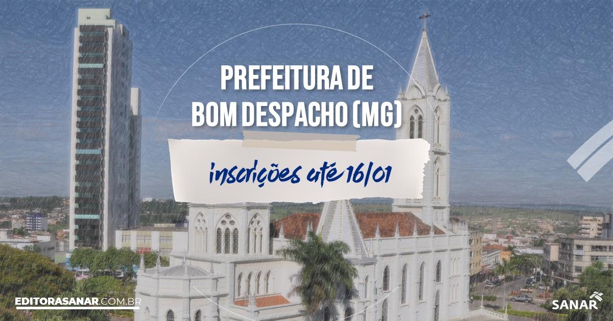 Concurso de Bom Despacho - MG: salários na Saúde de até R$10 mil!