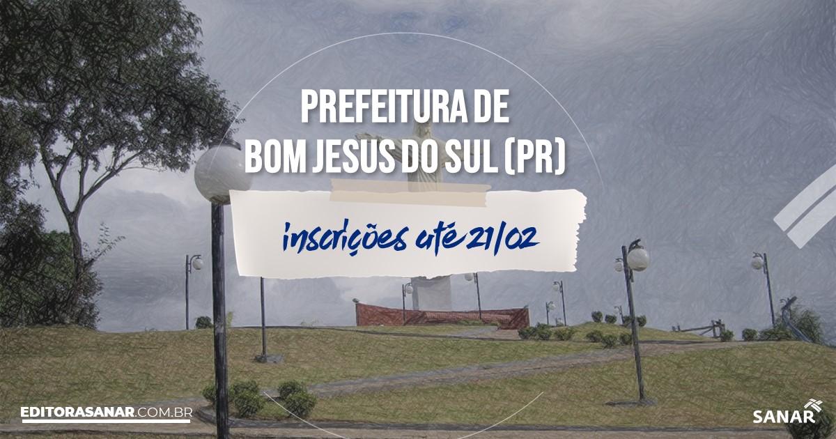Concurso de Bom Jesus do Sul - PR: na Saúde, vaga para nutricionista!