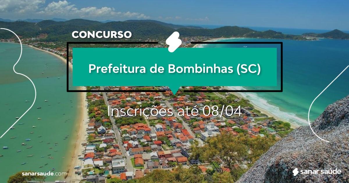Concurso de Bombinhas - SC: cargos na Saúde!