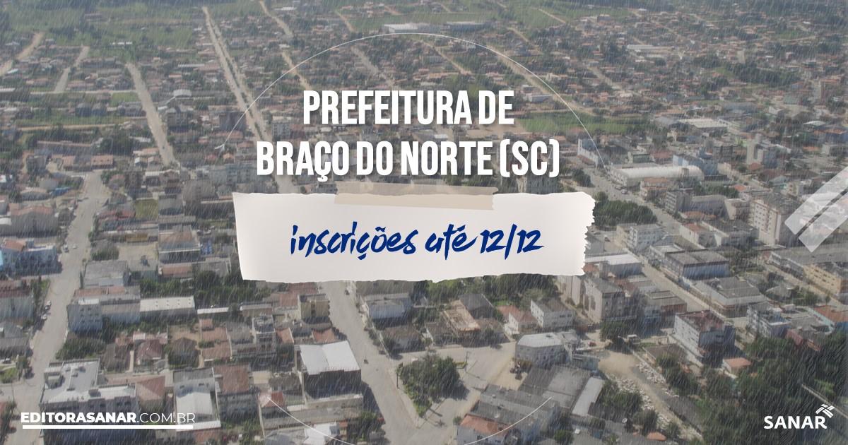 Concurso de Braço do Norte - SC: salários de até R$10 mil na Saúde!