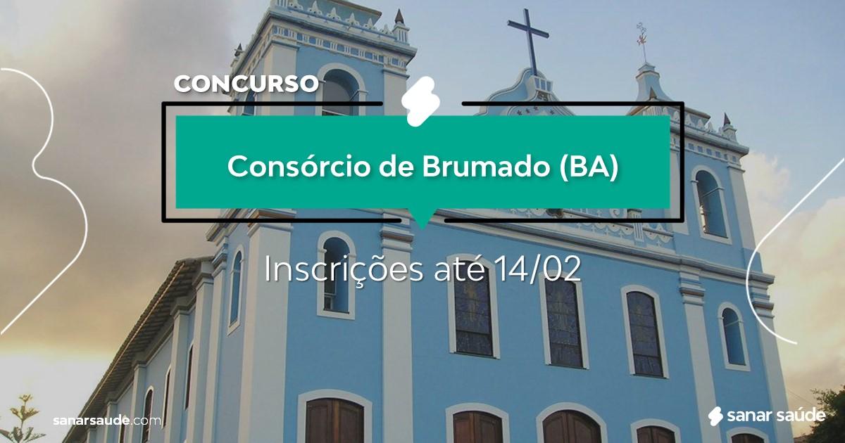 Concurso de Brumado - BA: cargos na Saúde!