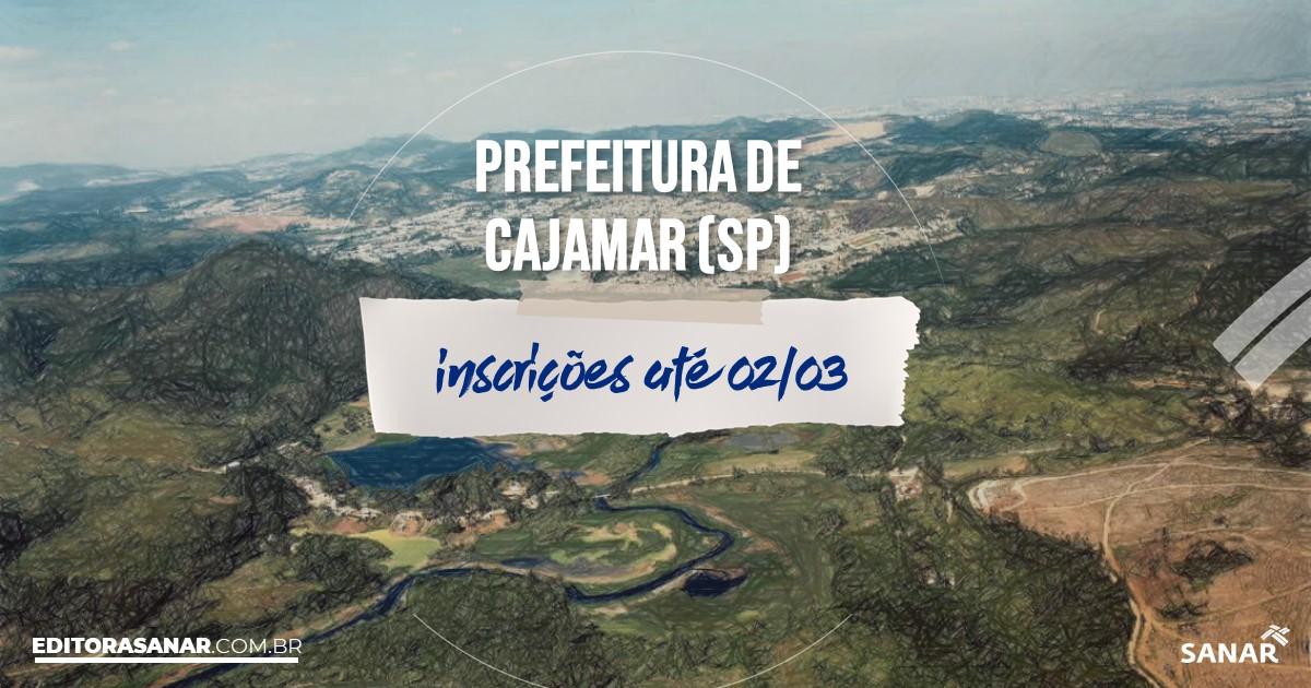 Concurso de Cajamar - SP: cargos na Saúde!