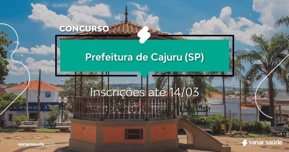 Concurso de Cajuru - SP: vagas na Saúde para dentistas!