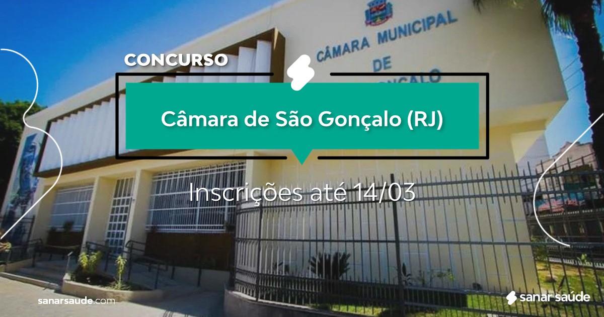 Concurso de São Gonçalo - RJ:  vagas imediatas na Saúde!
