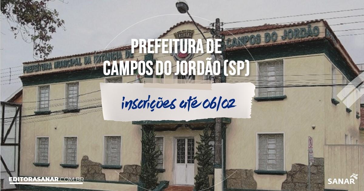 Concurso de Campos do Jordão - SP: vaga na Saúde para psicólogo!