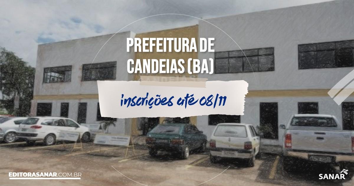 Concurso de Candeias - BA: na Saúde, salários de até R$12 mil!