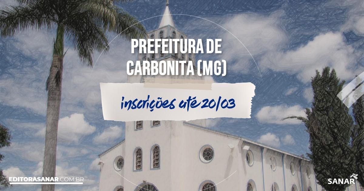 Concurso de Carbonita - MG: vagas na Saúde!