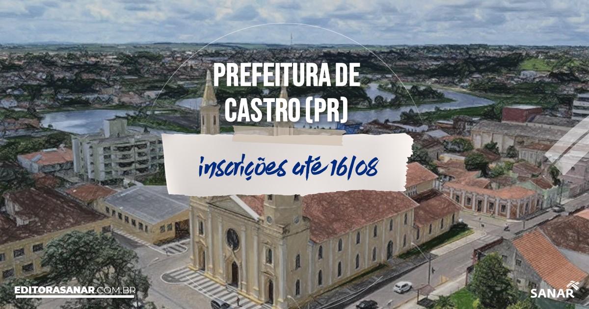 Concurso de Castro - PR: vagas na Saúde!