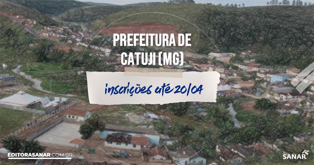 Concurso de Catuji - MG: salários na Saúde de até R$12 mil!