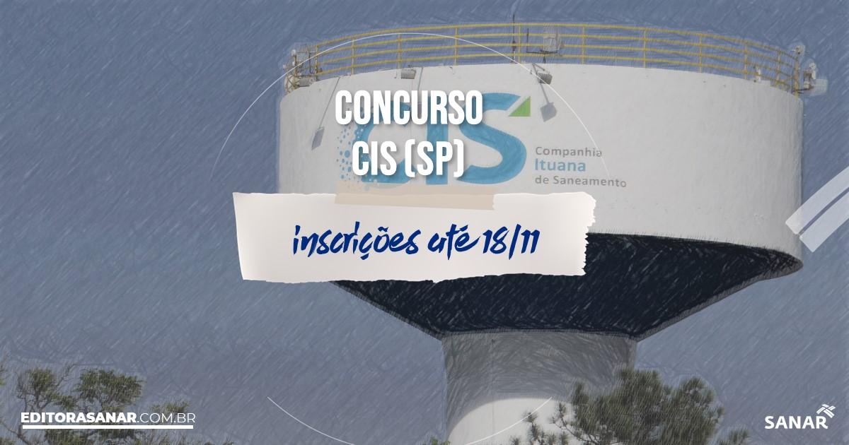 Concurso da Companhia Ituana de Saneamento - SP: cargos na Saúde!