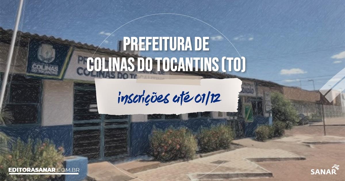 Concurso de Colinas do Tocantins - TO: cargos na Saúde!
