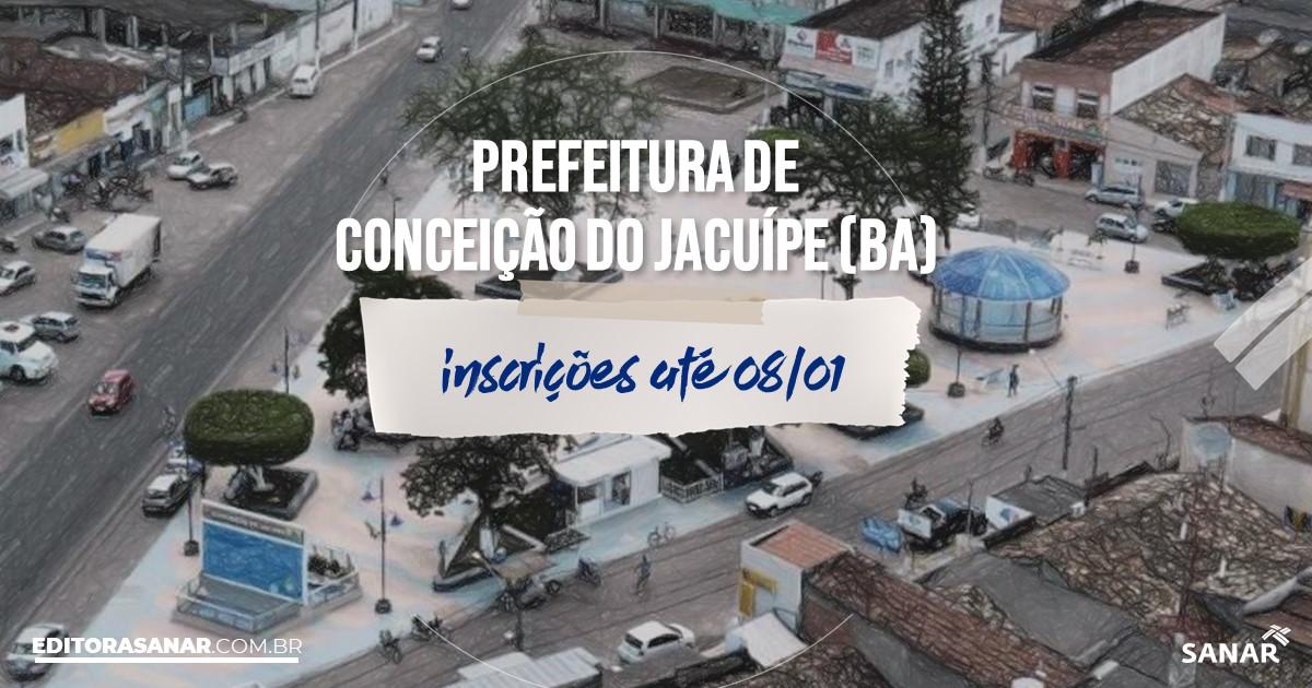 Concurso de Conceição do Jacuípe - BA: vagas imediatas na Saúde!
