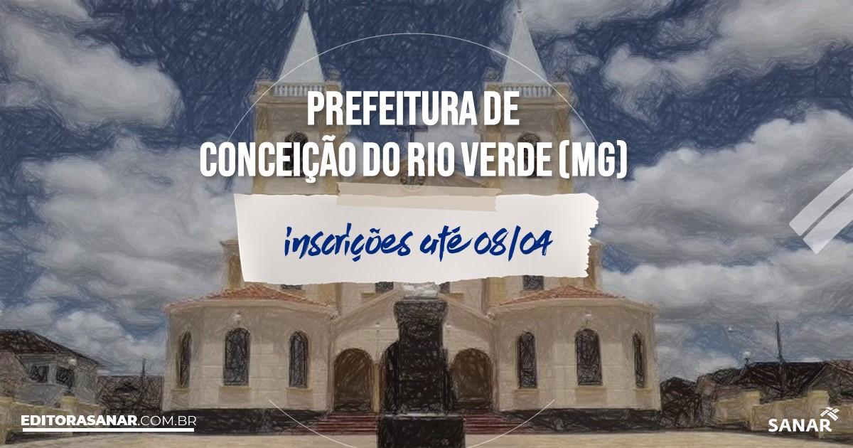 Concurso de Conceição do Rio Verde - MG: vagas na Saúde!