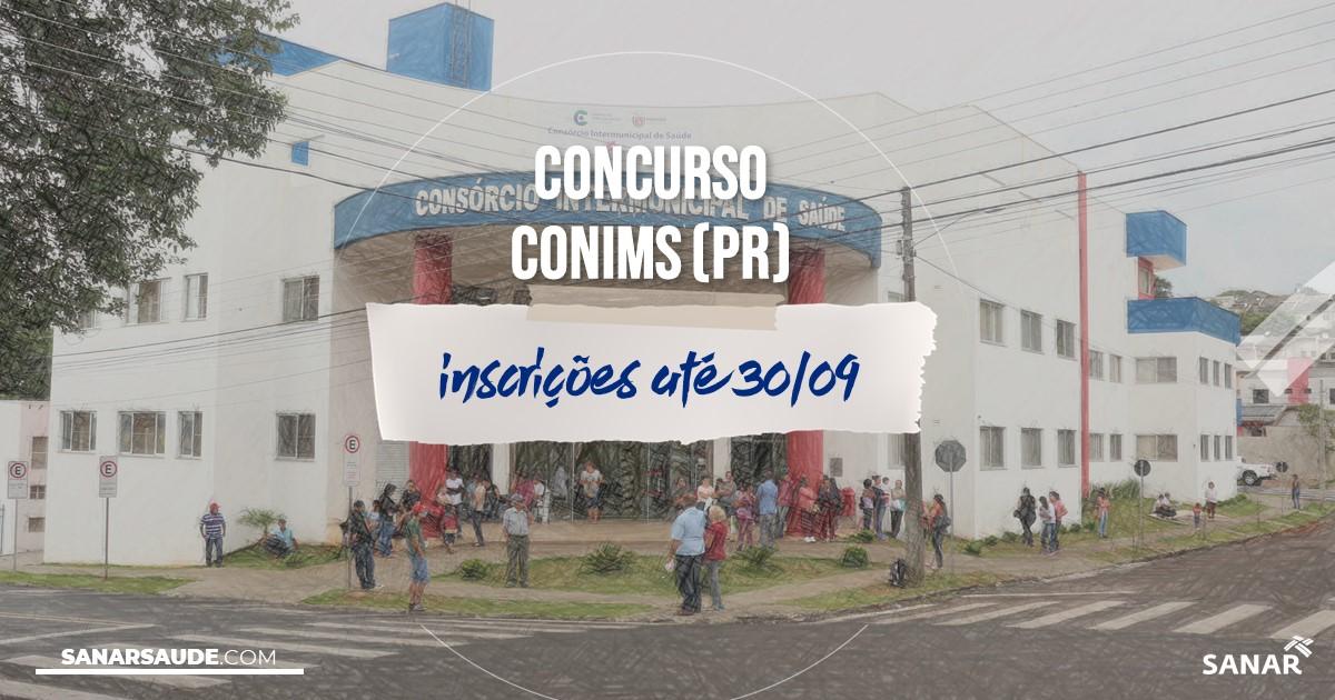 Concurso do CONIMS - PR: salários de até R$7,9 mil na Saúde!