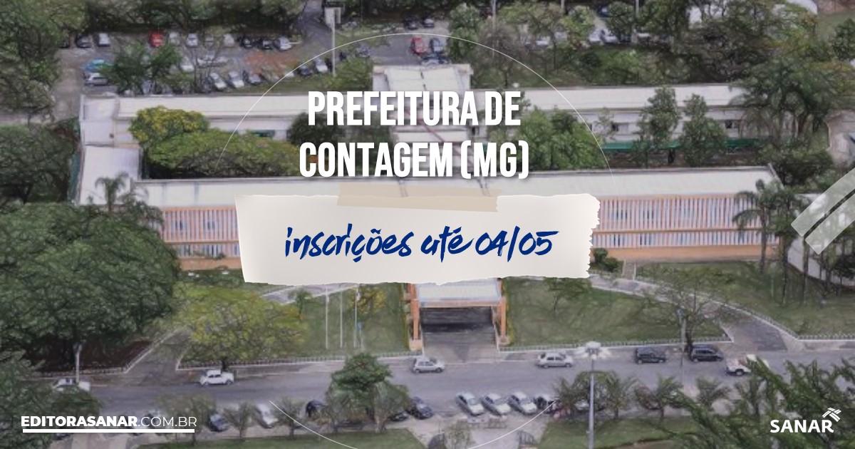 Concurso de Contagem - MG: vaga na Saúde para nutricionista!