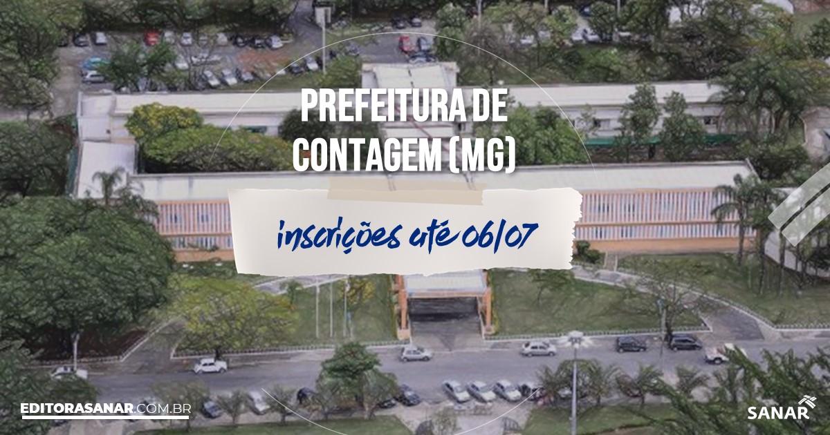 Concurso de Contagem - MG: na Saúde, vaga para nutricionista!