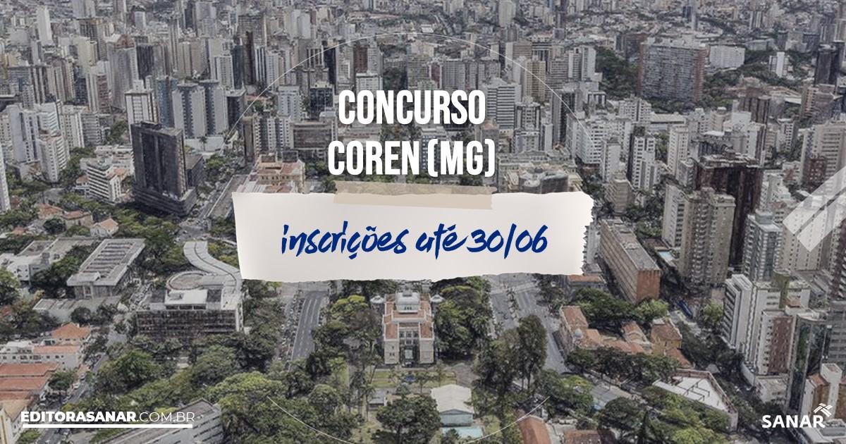 Concurso do COREN - MG: vagas na Saúde para enfermeiros!