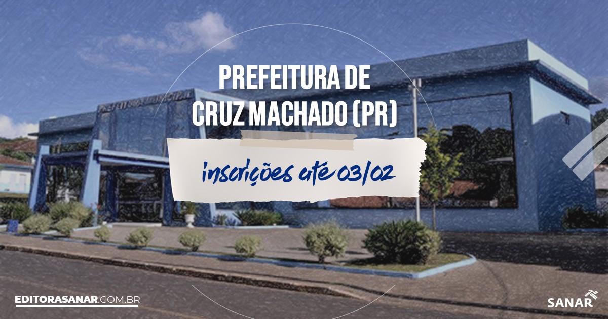 Concurso de Cruz Machado - PR: vagas de até R$12 mil na Saúde!