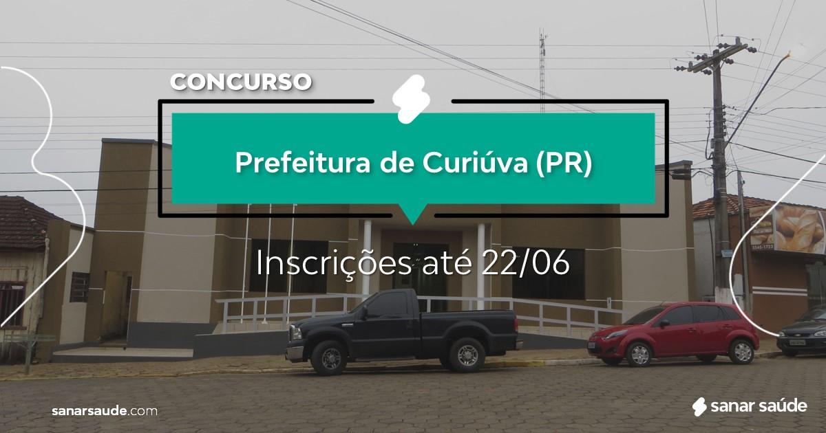 Concurso de Curiúva - PR: salário na Saúde até R$15 mil!