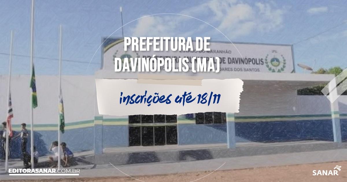Concurso de Davinópolis - MA: vagas na Saúde!