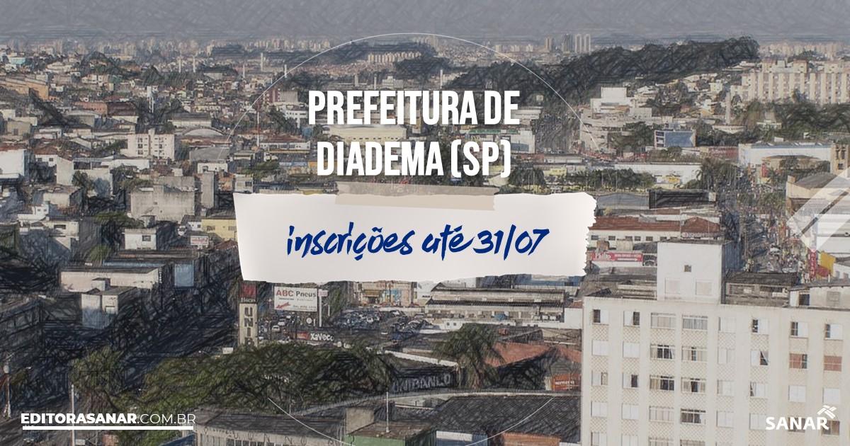 Concurso de Diadema - SP: vagas imediatas na Saúde!