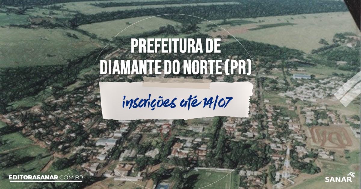 Concurso de Diamante do Norte - PR: cargo na Saúde!