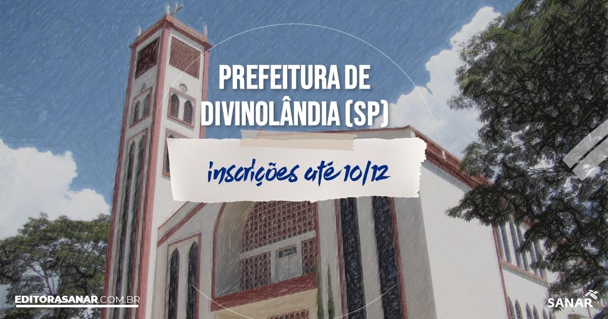Concurso de Divinolândia - SP: cargos na Saúde!