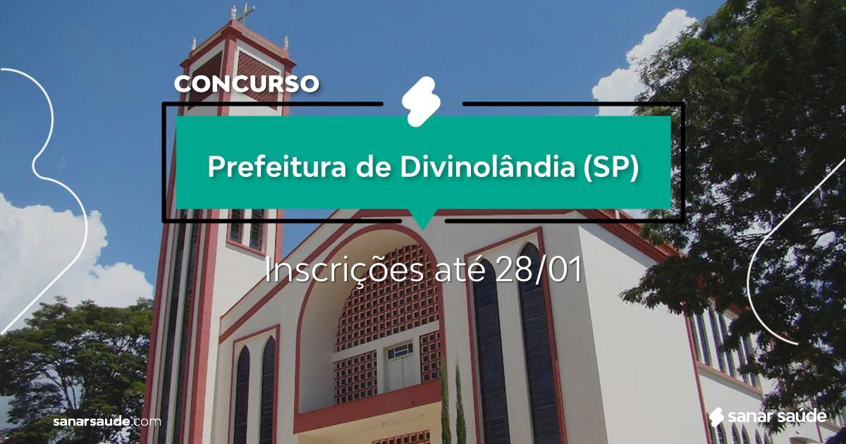 Concurso de Divinolândia - SP: vagas na Saúde!