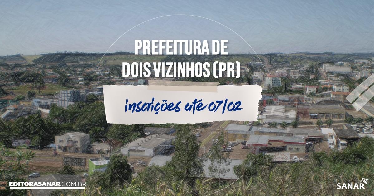 Concurso de Dois Vizinhos - PR: salários na Saúde de até R$10 mil!