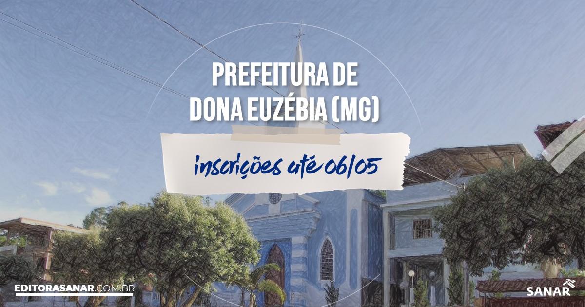 Concurso de Dona Euzébia - MG: salários de até R$12,9 mil na Saúde!