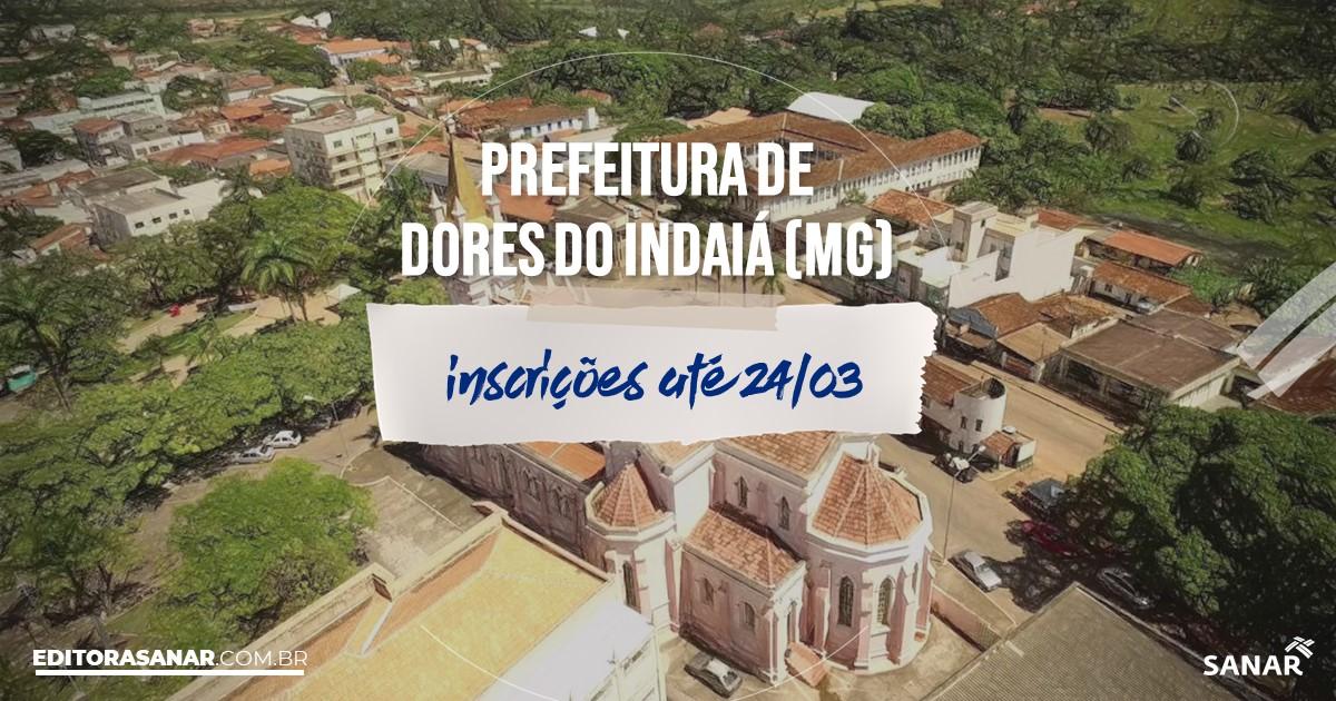 Concurso de Dores do Indaiá - MG: salários na Saúde de até R$13 mil!