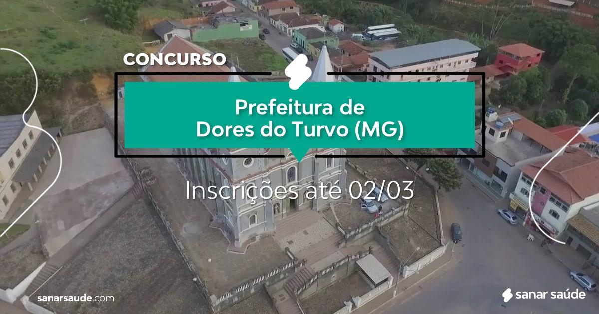 Concurso de Dores do Turvo - MG: na Saúde, salários de até R$8,5 mil!
