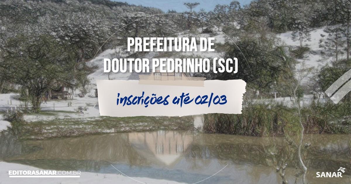 Concurso de Doutor Pedrinho - SC: salários de até R$17 mil na Saúde!