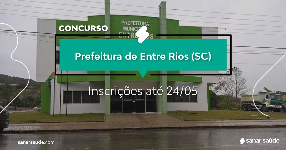 Concurso de Entre Rios - SC: vagas na Saúde para dentistas!
