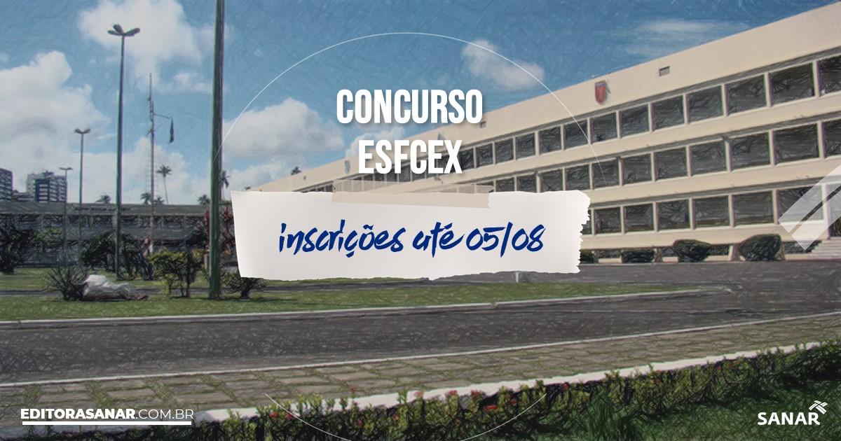 Concurso da EsFCEx: vagas na Saúde!