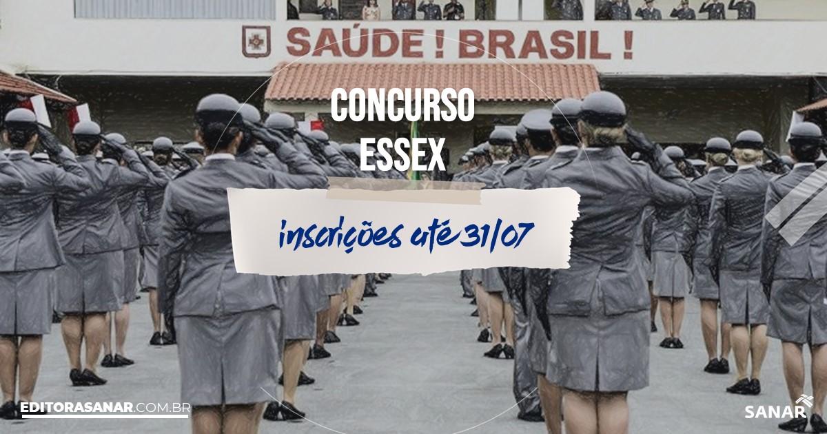Concurso da EsSEx: vagas na Saúde!