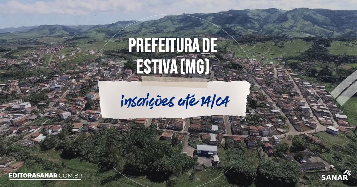 Concurso de Estiva - MG: salários na Saúde de até R$10 mil!