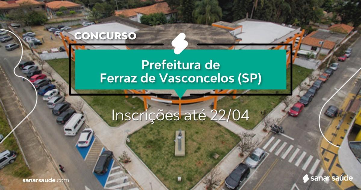 Concurso de Ferraz de Vasconcelos - SP: vagas na Saúde para psicólogos!